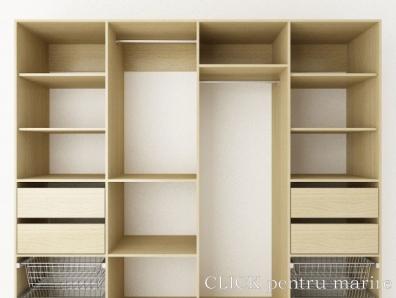 Interior dulapuri cu usi glisante - Configuratie dressing ...